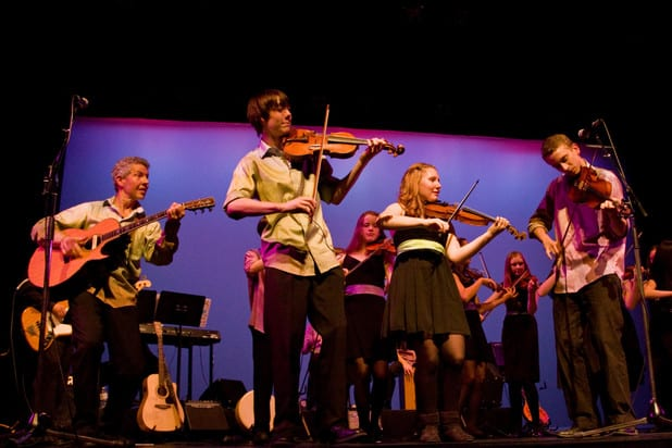 Fast Forward: West Coast Celtic at the Speed of Joy at the Centennial Theatre