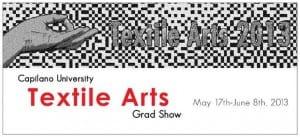 Capilano University Textile Arts Grad Show