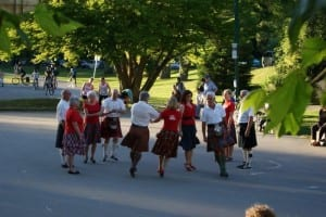 Deep Cove Scottish Country Dancing at Maplewood School North Vancouver