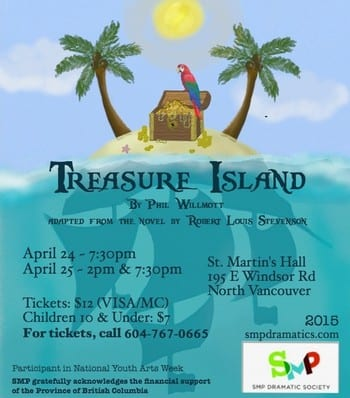 Treasure Island at St. Martin's Hall North Vancouver