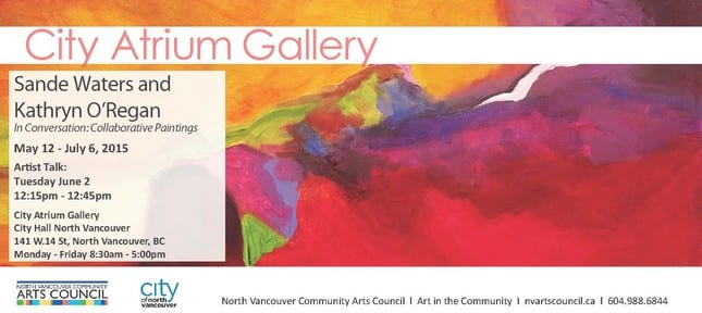 In Conversation: Collaborative Paintings at City Atrium Gallery