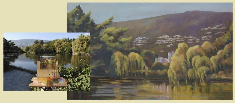 Painting Demonstration with Sheree Jones at CityScape Community Art Space