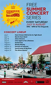 Summer Sessions at the Shipbuilders' Square North Vancouver – Souled Out