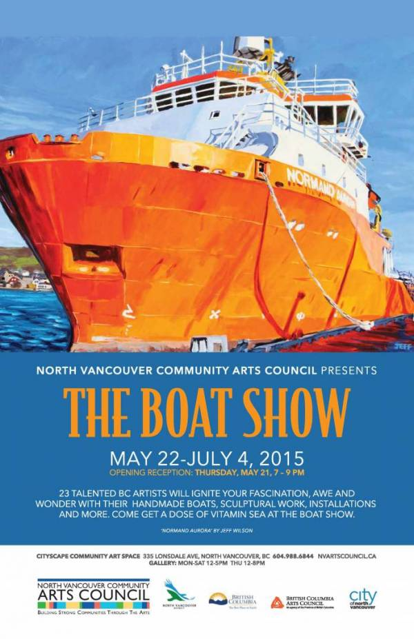 The Boat Show at the CityScape Community Art Space