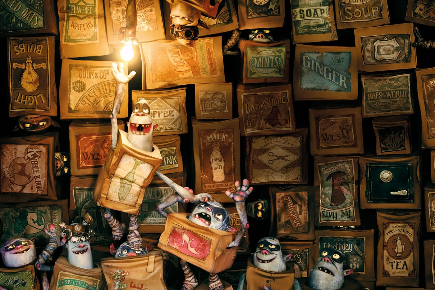 Family Movie: Boxtrolls at the Lynn Valley Library