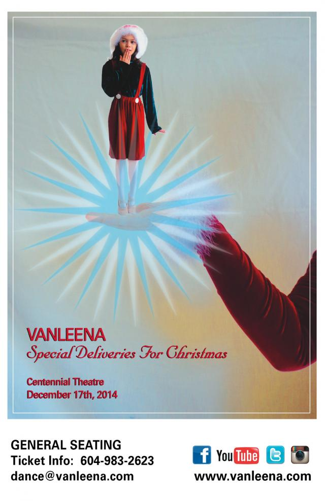 Vanleena Dance Academy presents Special Deliveries for Christmas at Centennial Theatre