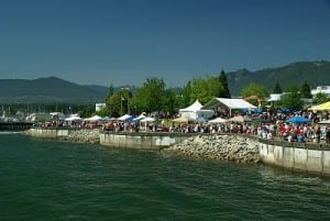 North Vancouver Canada Day Celebrations at Waterfront Park